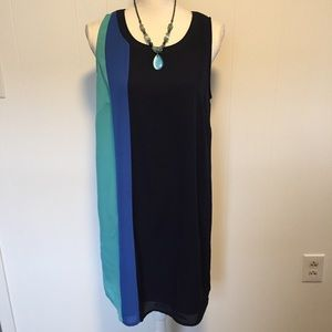 Mercer and Madison color block dress size 8.